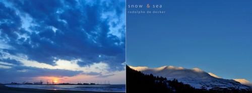 Snow and sea 11